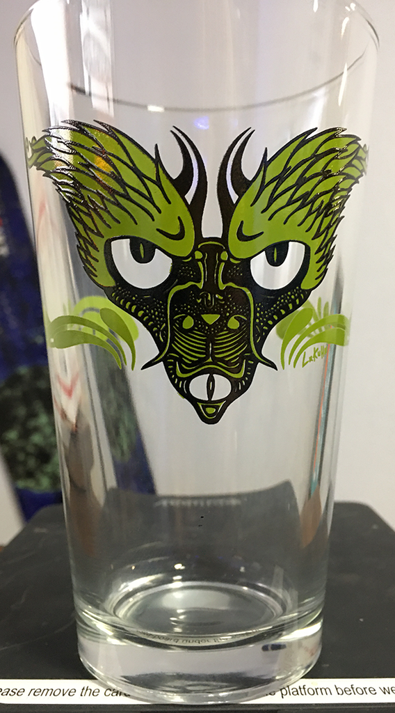 2-EVEL PINT GLASS SALE