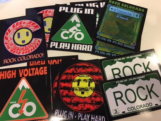 ROCK COLORADO stickers