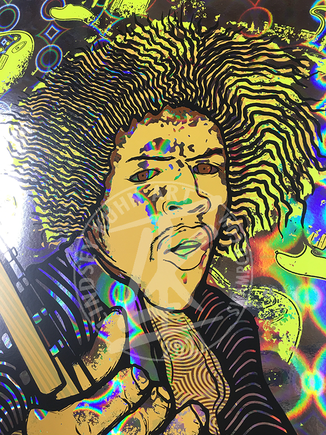 "HOLOGRAM ""JIMI"" yellow"