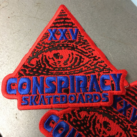CONSPIRACY ANNIVERSARY PATCH