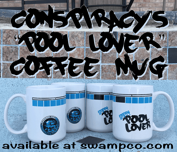 Pool lover coffee mug