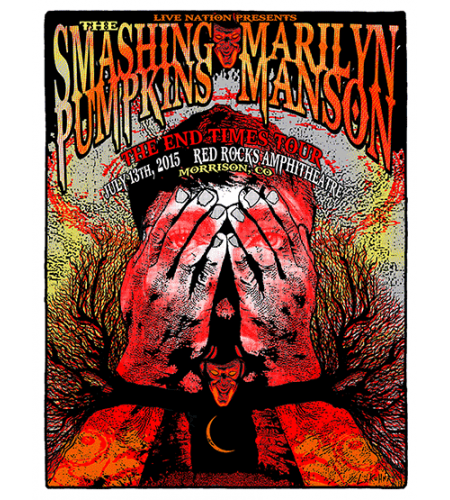 SMASHING PUMPKINS / MARILYN MANSON