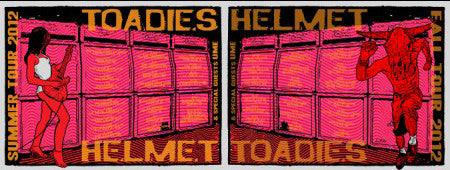 HELMET / TOADIES TOUR SET