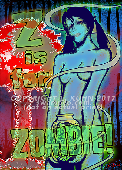 Z is for Zombie!