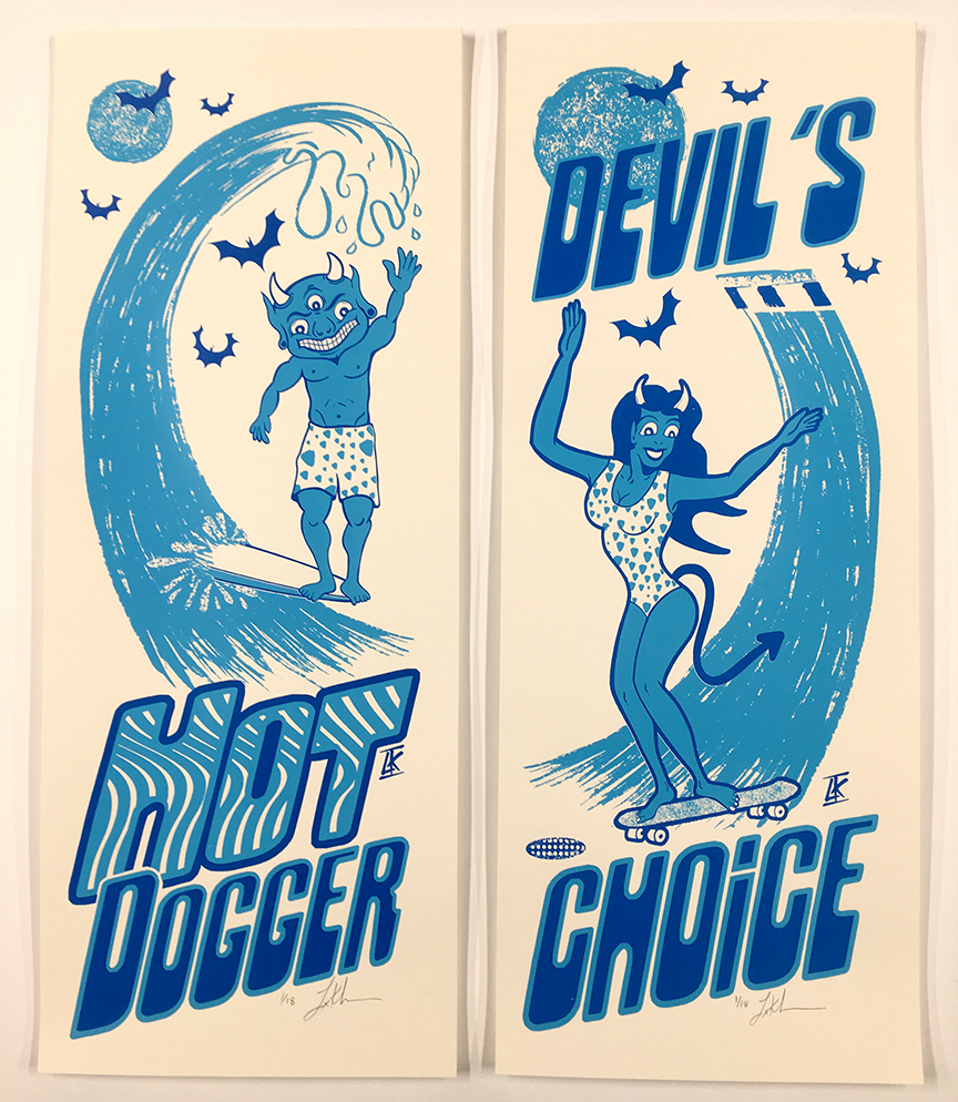 BLUE DEVIL'S 2 PACK
