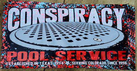 CONSPIRACY POOL SERVICE BANNER