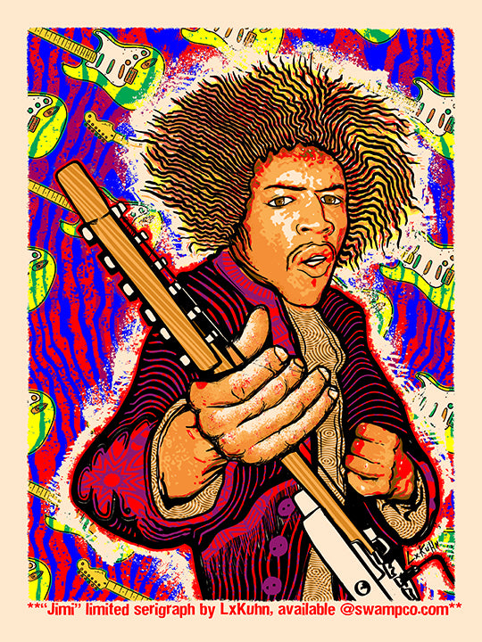 "NEW ""JIMI"" ARTPRINT"