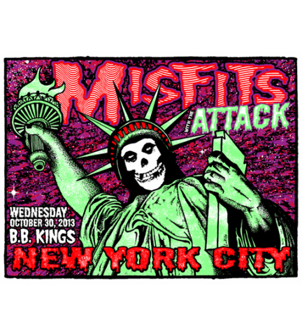 MISFITS w/ ATTACK NEW YORK