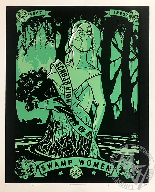 SCROJO SWAMP WOMAN