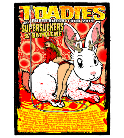 TOADIES / SUPERSUCKERS