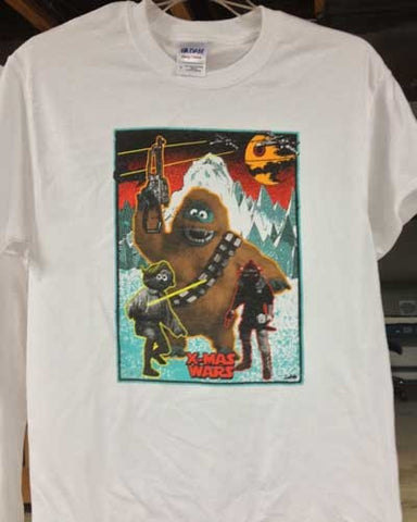 X-MAS WARS T-SHIRT