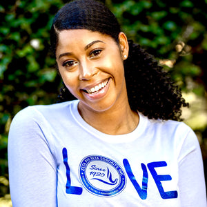 Zeta Phi Beta LOVE Long Sleeve Tee