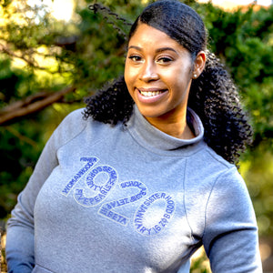 Zeta Phi Beta 1920 Sweatshirt with Pouch