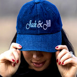 Jack and Jill Blue Jean Cap
