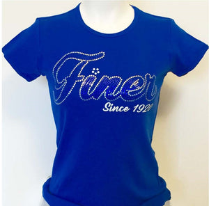 Zeta Phi Beta Sequin Finer Tee