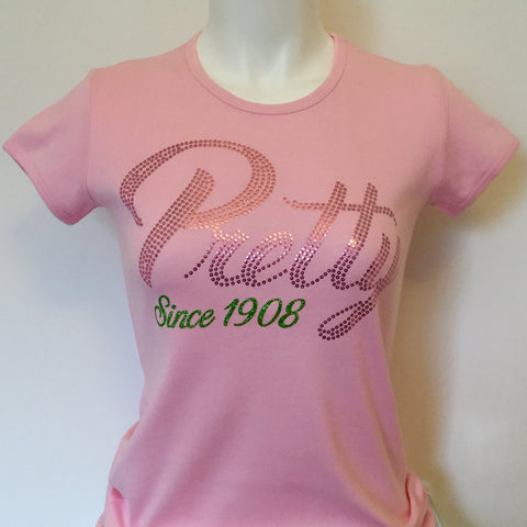 Alpha Kappa Alpha (AKA) Pretty Since 1908 Tee