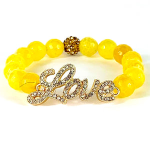 Love Bracelet - Yellow