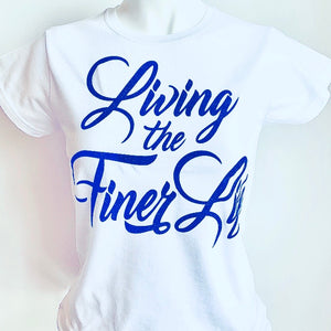 Zeta Phi Beta Living the Finer Life Tee