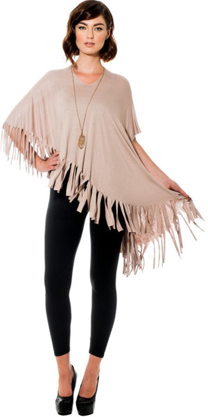 Fringe Lightweight Shawl - A Dozen Ways To Wear