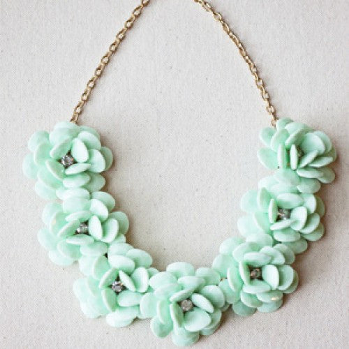 7-Flower J.Crew Replica Necklace