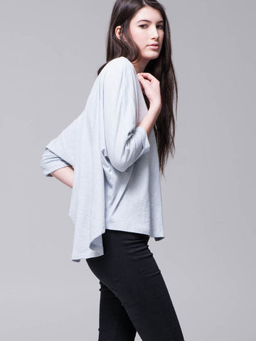 Oversized Dolman Slub Top