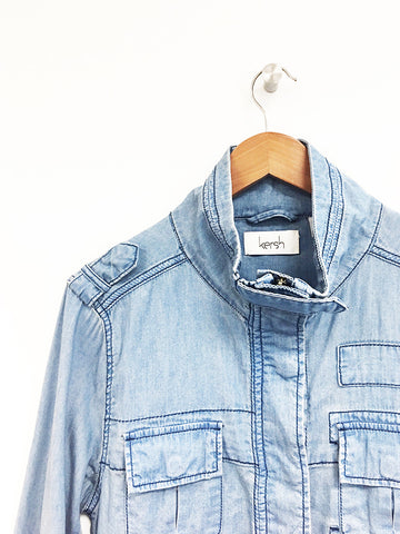 Denim Safari Jacket