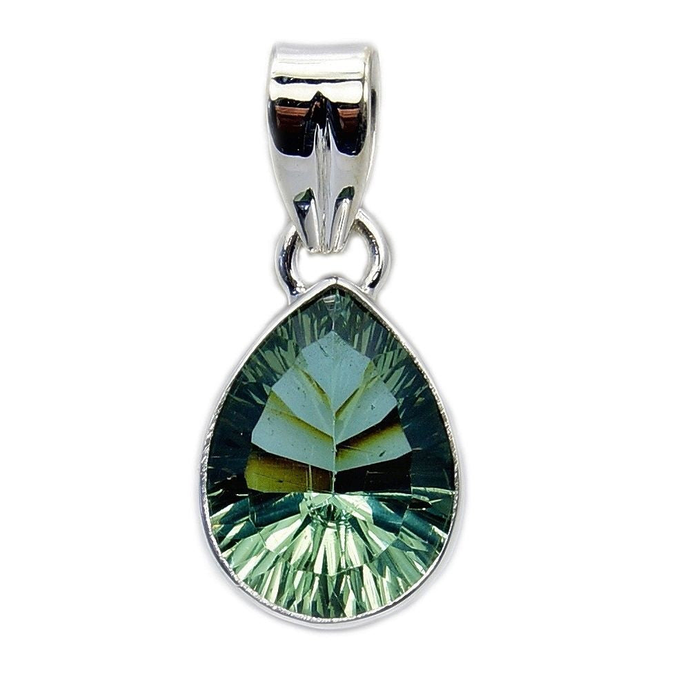 Color Change Alexandrite & Sterling Silver Pendant - The Silver Plaza