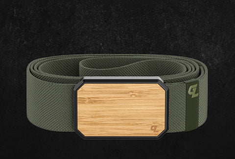 The Limited Edition Groove Belt in Bamboo