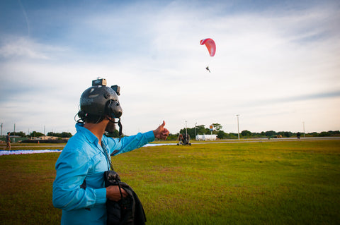 Groove Life team goes Powered Paragliding