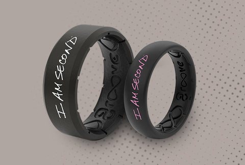 I Am Second rings for men and women