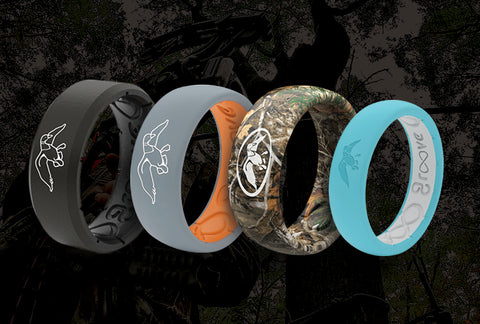 Duck Commander Silicone Rings for Hunters