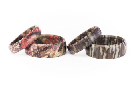 329098f319 Mossy Oak Camouflage Silicone Rings & Camo Wedding Bands – Groove Life