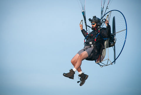 Powered Paragliding with Aviator