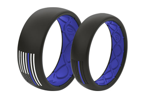 breathable silicone ring for police officers