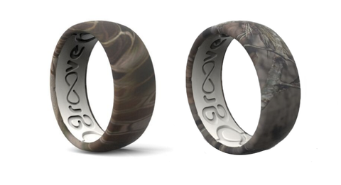 Camouflage Silicone Rings