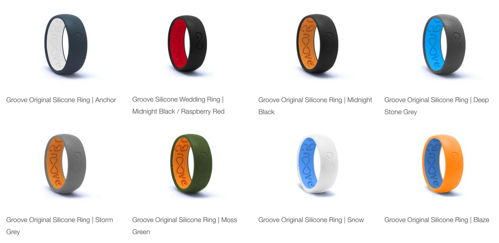 silicone wedding bands