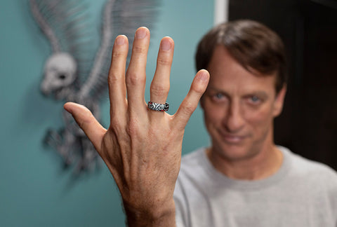 Tony Hawk Groove Ring to prevent injury
