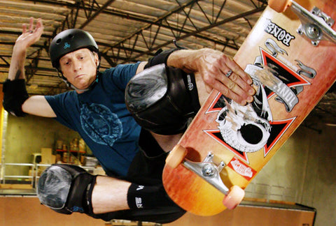 Tony Hawk Wears a breathable silicone Groove Ring