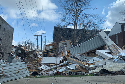 tornado damage nashville strong groove life