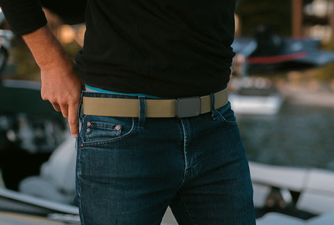 The Groove Belt: The best men's belt for jeans.