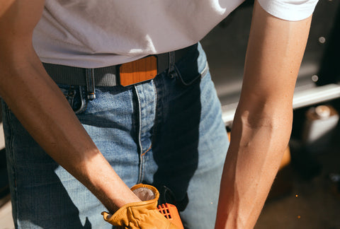 Why wear the Groove Belt with jeans?