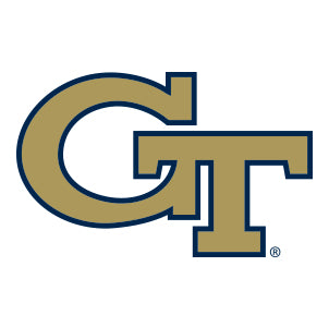 Georgia Tech Collegiate Silicone Rings