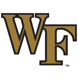 Wake Forest Collegiate Silicone Rings