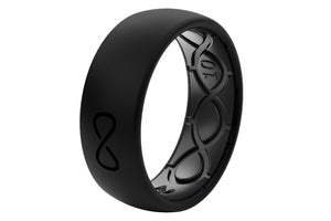Original Solid Midnight Black/Black - Groove Life Silicone Wedding Rings