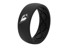 Original NFL Arizona Cardinals Black - Groove Life Silicone Wedding Rings