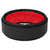 Step Midnight Black/Red - Groove Life Silicone Wedding Rings