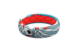 Flying Falcon Thin Ring - Groove Life Silicone Wedding Rings
