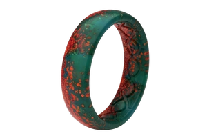 Thin Aspire Patina - Groove Life Silicone Wedding Rings