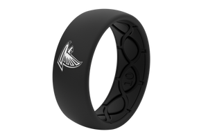 Original NFL Atlanta Falcons Black - Groove Life Silicone Wedding Rings