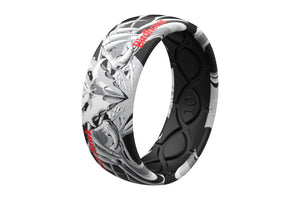 Falcon 3 Ring - Groove Life Silicone Wedding Rings